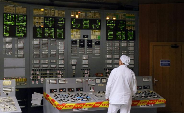 "The decommissioned Ignalina nuclear power station in eastern Lithuania was the set of HBO's critically acclaimed ""Chernobyl"" TV series (AFP Photo/Petras Malukas)"