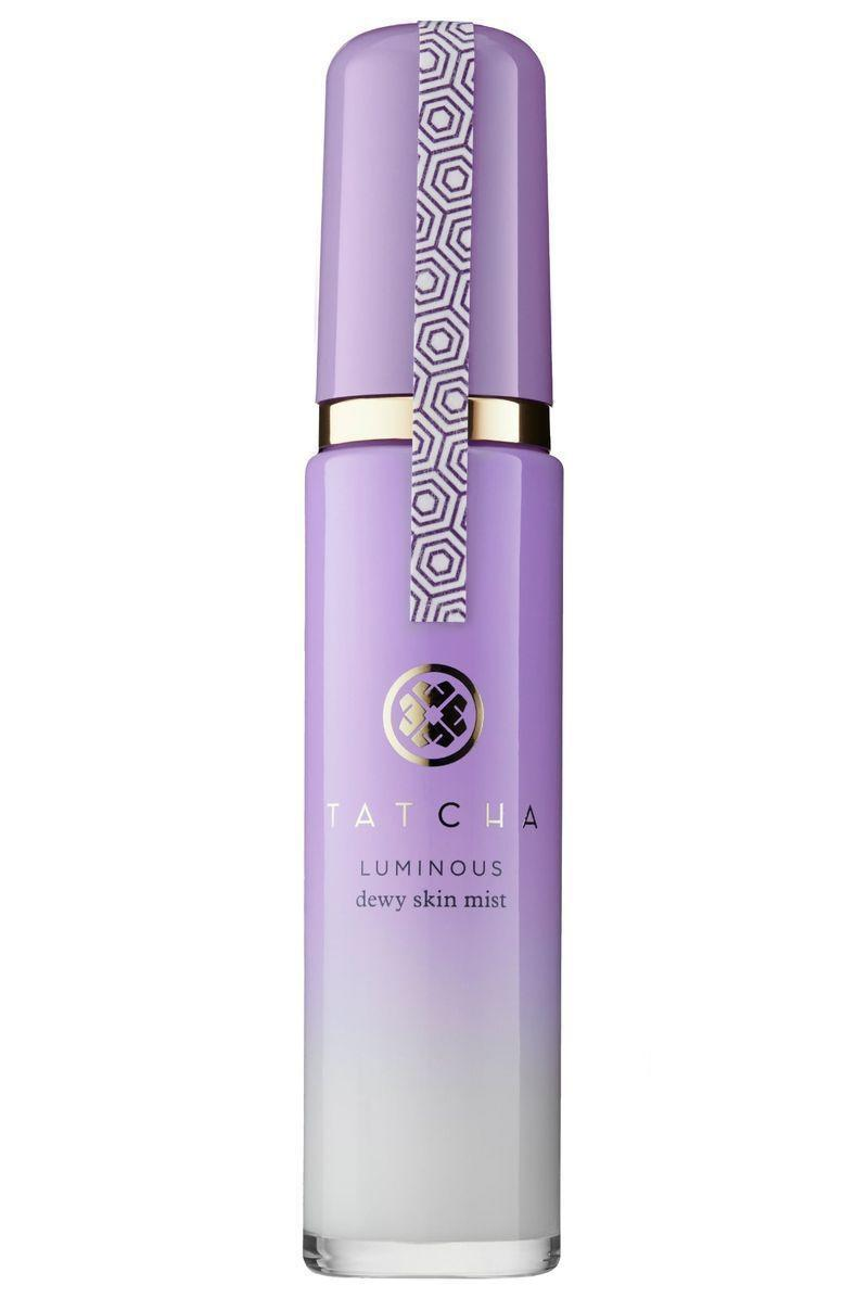 """<p><strong>Tatcha</strong></p><p>sephora.com</p><p><strong>$48.00</strong></p><p><a href=""""https://go.redirectingat.com?id=74968X1596630&url=https%3A%2F%2Fwww.sephora.com%2Fproduct%2Fluminous-dewy-skin-mist-P399623&sref=https%3A%2F%2Fwww.marieclaire.com%2Fbeauty%2Fg36111345%2Fface-mists%2F"""" rel=""""nofollow noopener"""" target=""""_blank"""" data-ylk=""""slk:SHOP IT"""" class=""""link rapid-noclick-resp"""">SHOP IT</a></p><p>Highlighter might fade over the course of a night out, and this hydrating mist is an instant refresh for a full-face. </p>"""
