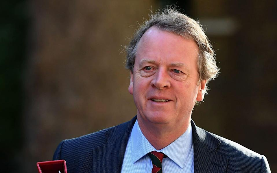 Alister Jack, the Scottish Secretary - Shutterstock