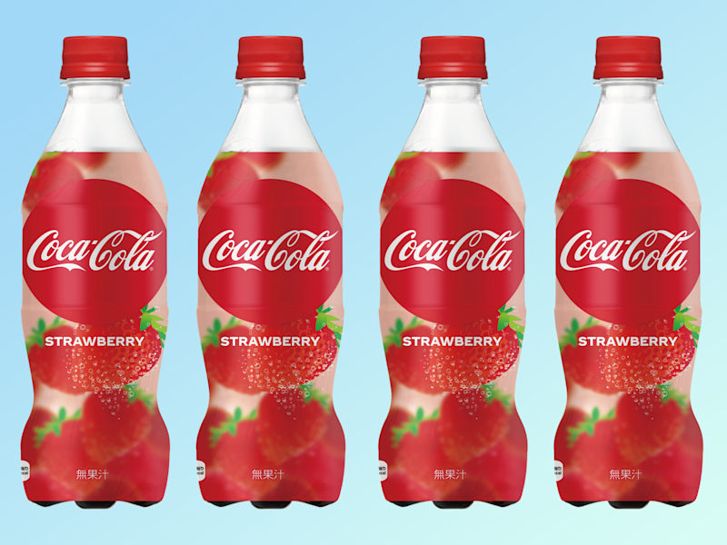 Japan Is Getting Strawberry Coke And I've Never Been More Jealous