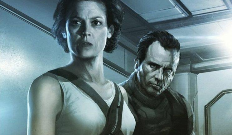 Ripley and Hicks in Alien 5 concept art - Credit: Twitter