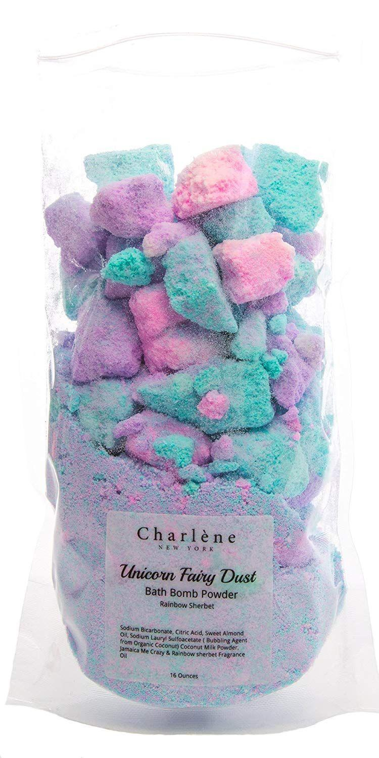 "<p>Know someone that loves unicorns and bath time? Voila. Give the gift of ultimate relaxation with this bath bomb crumble</p><br><br><strong>Charlene New York</strong> Unicorn Bath Bomb Fizzy Powder, $15.99, available at <a href=""https://www.amazon.com/dp/B077BCCFVV"" rel=""nofollow noopener"" target=""_blank"" data-ylk=""slk:Amazon"" class=""link rapid-noclick-resp"">Amazon</a>"
