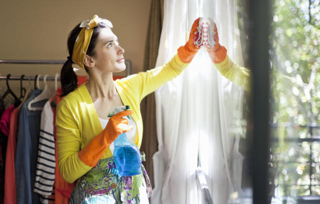 Why cleaning can be good for your mental health [Photo: Getty]