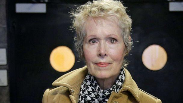 PHOTO: E. Jean Carroll arrives at court in New York, March 4, 2020. (Seth Wenig/AP, FILE)
