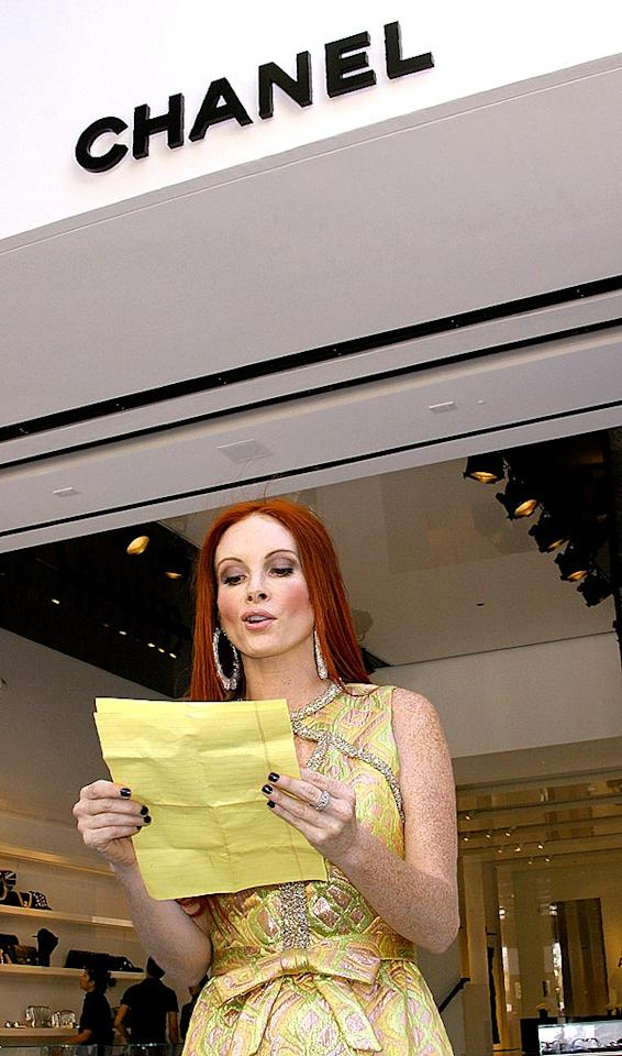 """When Phoebe Price threatened to sue Chanel for rejecting her at an A-list event, she solidified her F-list status. Dear Pheebs, the only list that will cherish your talents and exquisite style is this one. See you next week! Tonya Wise/<a href=""""http://www.splashnewsonline.com"""" target=""""new"""">Splash News</a> - June 6, 2008"""