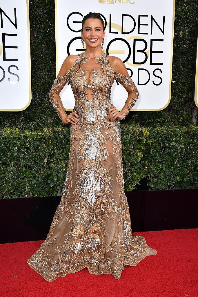 BEVERLY HILLS, CA - JANUARY 08: Actress Sofia Vergara attends the 74th Annual Golden Globe Awards at The Beverly Hilton Hotel on January 8, 2017 in Beverly Hills, California. (Photo by Steve Granitz/WireImage)