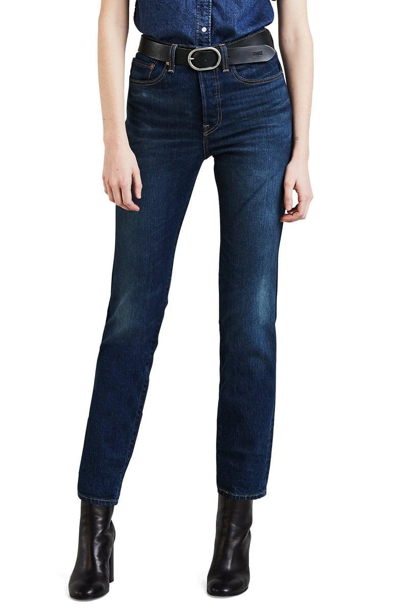 <p>These <span>Levi's Wedgie Icon Fit High Waist Crop Jeans</span> ($98) will make your butt look so good.</p>