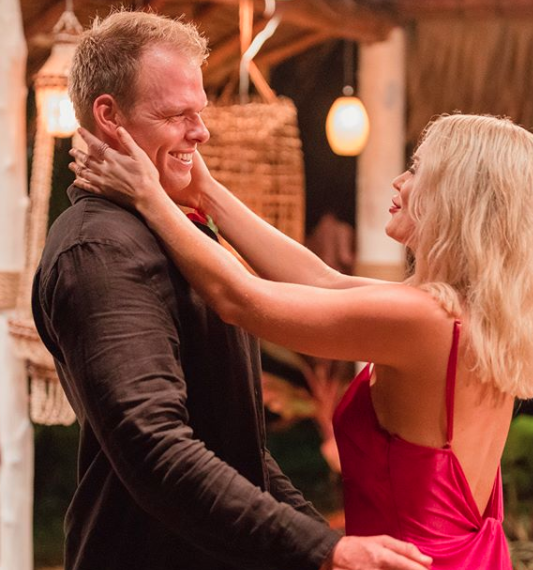 Keira and Jarrod have also been going from strength to strength in Paradise. Source: Ten
