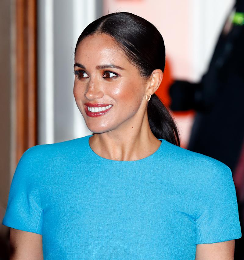 Meghan Markle is among the prominent women celebrating International Women's Day. (Photo: Max Mumby/Indigo/Getty Images)