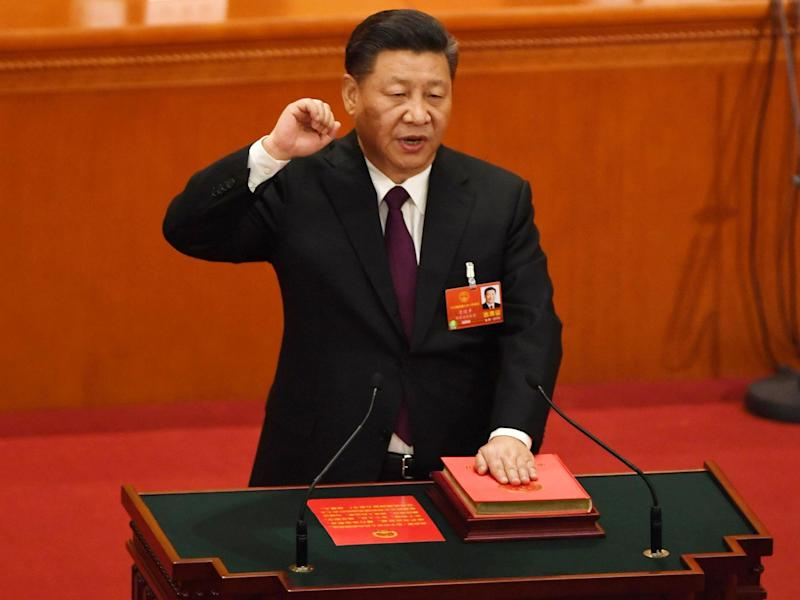 Xi Jinping's government has ordered a cull of books which deviate from Communist Party doctrine: AFP via Getty Images
