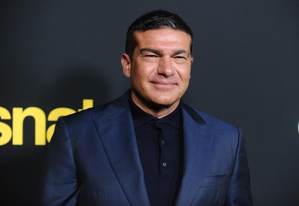 """CULVER CITY, CA - MARCH 09:  Actor Tamer Hassan attends the premiere of """"Snatch"""" at Arclight Cinemas Culver City on March 9, 2017 in Culver City, California.  (Photo by Jason LaVeris/FilmMagic)"""
