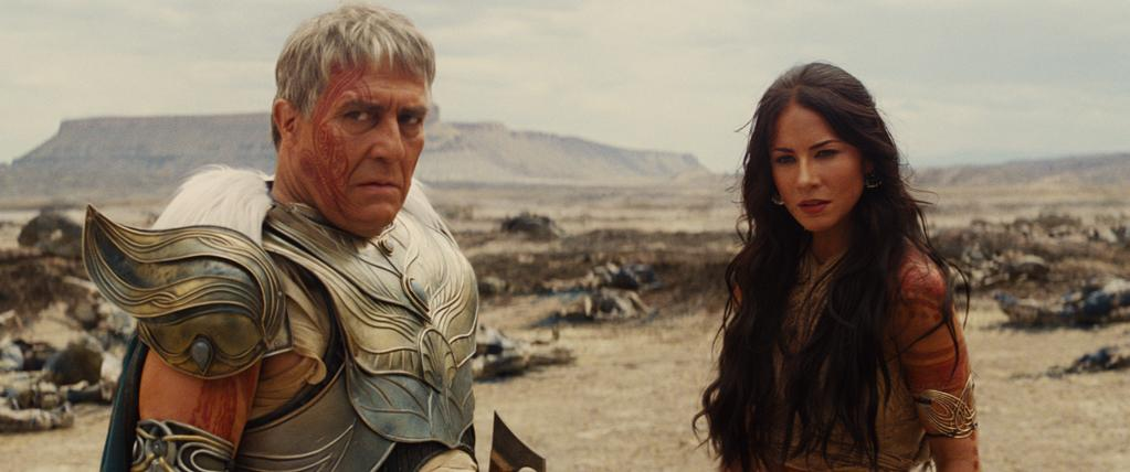 """Ciaran Hinds and Lynn Collins in Walt Disney Pictures' """"John Carter"""" - 2012"""