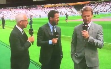 Alan Pardew was on punditry duty for West Ham's match with Tottenham  - Sky Sports