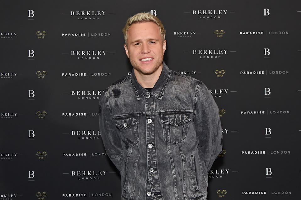 Olly Murs attends the launch of Berkley London, a bespoke luxury chauffeur & concierge founded by John Newman, at The Yard, Shoreditch, on  March 4, 2020 in London, England.  (Photo by David M. Benett/Dave Benett/Getty Images for Berkley London)