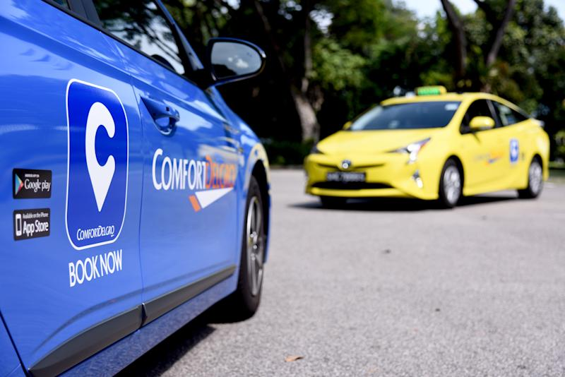ComfortDelGro taxis. (PHOTO: ComfortDelGro)