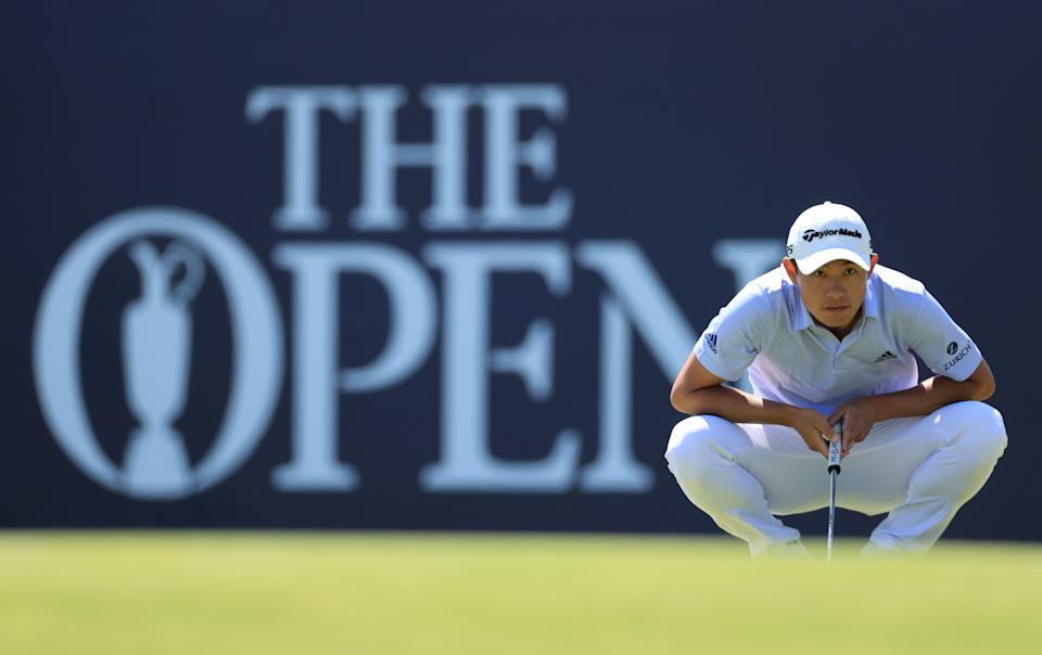 Friday was a good day for Collin Morikawa. (Photo by David Cannon/R&A/R&A via Getty Images)