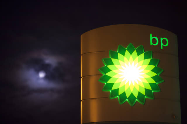 Petrol Prices At U.K. Gas Stations As Price Of Oil Continues To Fall
