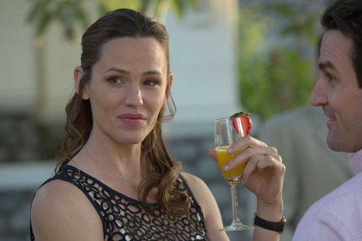 """<p>This under-appreciated dramedy from 2016 features Garner as the wife of a man (Bryan Cranston) who gets tired of his life and fakes his own disappearance by hiding out in their garage attic. It's certainly not the most light-hearted of Garner's films, but sometimes that's where she shines the most.</p><p><a class=""""link rapid-noclick-resp"""" href=""""https://www.amazon.com/Wakefield-Bryan-Cranston/dp/B0741H7PMB/ref=sr_1_1?tag=syn-yahoo-20&ascsubtag=%5Bartid%7C10072.g.27131604%5Bsrc%7Cyahoo-us"""" rel=""""nofollow noopener"""" target=""""_blank"""" data-ylk=""""slk:WATCH NOW"""">WATCH NOW</a></p>"""