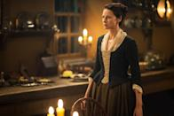 <p>I'm proud of the way we depict our heroine as a smart, strong woman who is able to adapt to living in the past without losing her sense of self. She's not a damsel in distress and she's often the one to come to the rescue of the man she loves. (Credit: Starz) </p>