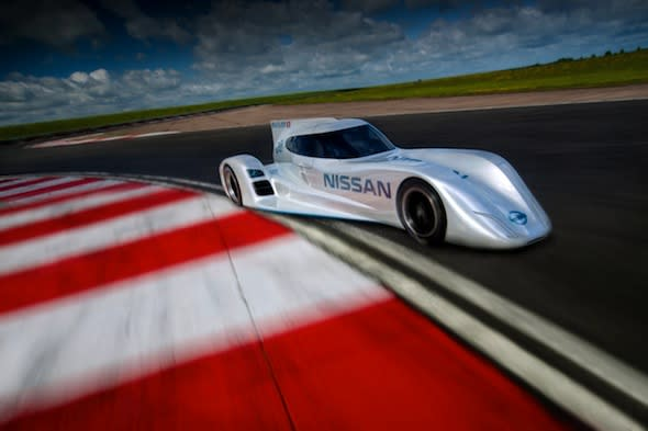 Nissan to return to Le Mans with all-electric racer