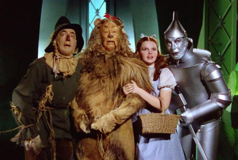 The Wizard of Oz was considered a cursed production by many who starred in it (Credit: MGM)