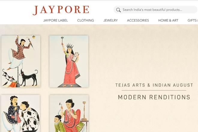 Jaypore's business comprises online and offline operations and has a customer base in 60 countries across the world. (Website image)