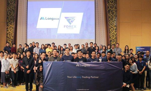 Long Asia Group sponsored FX trading forum attracts hundreds in Thailand