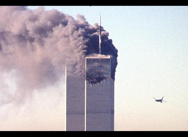"The first crash <a href=""http://www.nysm.nysed.gov/wtc_timeline/zoomify.html"" target=""_hplink"">occurred</a> at 8:46 a.m. when Flight 11 hit the north tower of New York's World Trade Center. According to the <a href=""http://www.9-11commission.gov/report/index.htm"" target=""_hplink"">9/11 Commission Report</a>, two flight attendants contacted American Airlines as the plane was being hijacked to provide details of the emergency. They reported the use of Mace or a similar spray, several stabbings and a bomb threat. The last known communication from the plane came when flight attendant Madeline ""Amy"" Sweeney, on the phone with American Flight Services manager Michael Woodward, said, ""Oh my God we are way too low."""