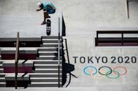 Skateboarding is one of the sports making an Olympic debut