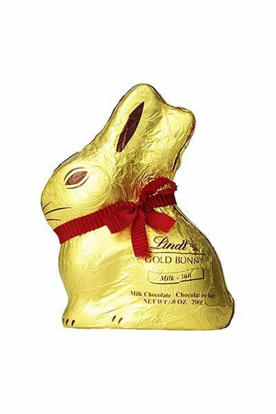 "<p><strong>Lindt</strong></p><p>amazon.com</p><p><strong>$8.99</strong></p><p><a href=""http://www.amazon.com/dp/B00B96KPXQ/"" target=""_blank"">SHOP NOW</a></p><p>No Easter basket is complete without a pair of these golden ears peering out from the top.  The hollow inside lets you break off pieces as you nibble through the cute shape. </p>"