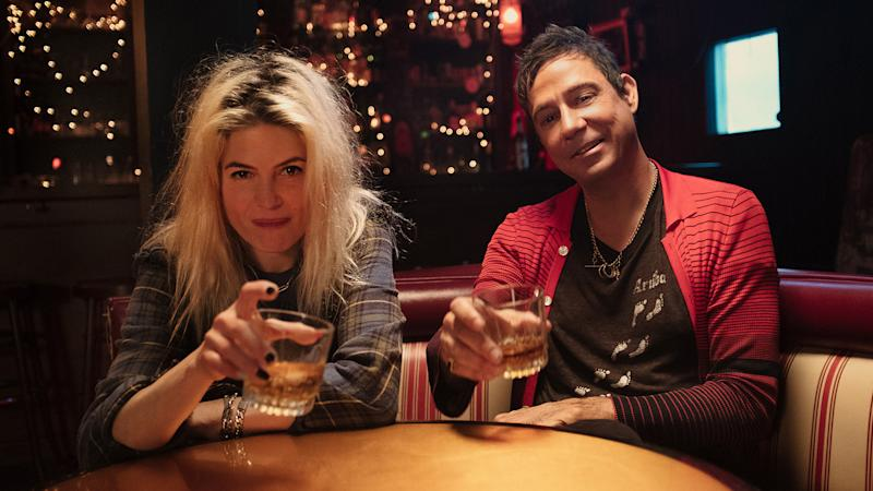 The Kills, made up of Alison Mosshart and Jamie Hince, have joined Seagram's 7 Crown Whiskey to celebrate dive bars across the country with the re-release of two remastered songs -- Night Train and Blue Moon -- on National Dive Bar Day this year. Photo by Clayton Cubitt via DIAGEO.