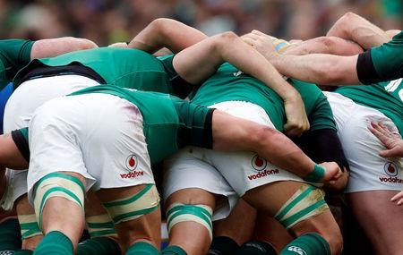 Rugby Union - Six Nations Championship - Ireland vs Italy - Aviva Stadium, Dublin, Republic of Ireland - February 10, 2018 General view of a scrum in action REUTERS/Russell Cheyne