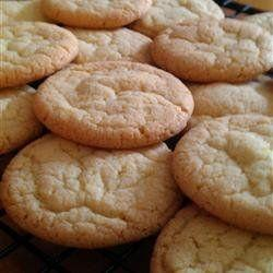 """It's hard to get simpler than sugar cookies, but sometimes simple is best. If you want to get a little bit fancy, add some red and green sprinkles to the top. Learn how to create these at <a href=""""http://www.allrecipes.com/recipe/9870/easy-sugar-cookies"""" target=""""_blank"""">AllRecipes.com</a>."""