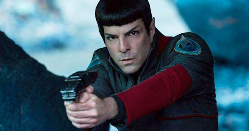 Zachary Quinto as Spock (Credit: Paramount)