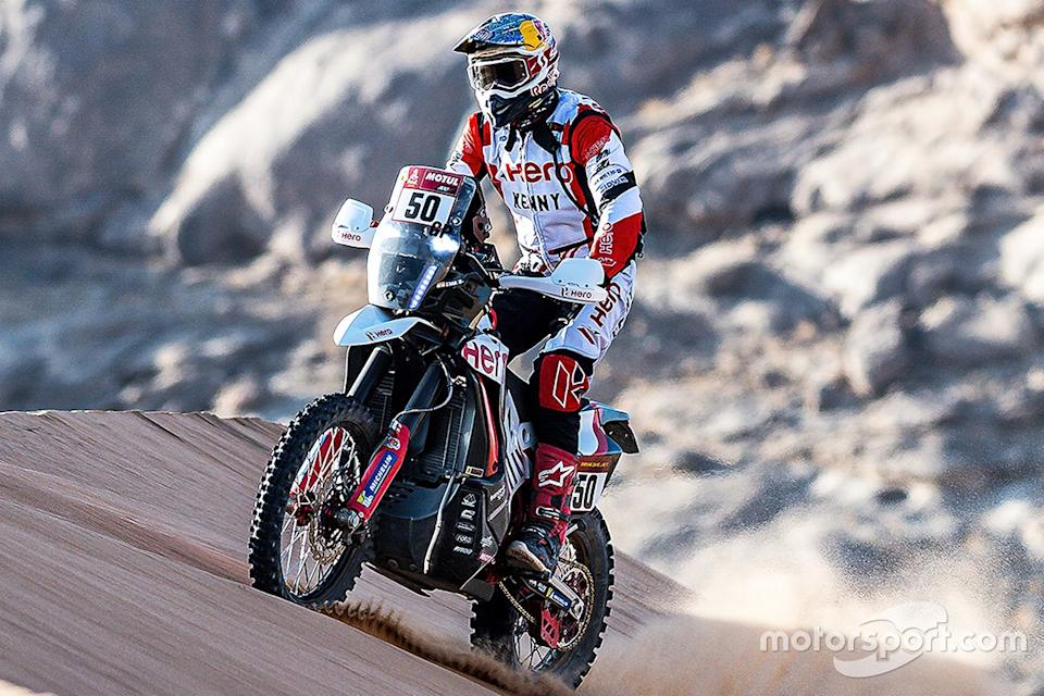 "#50 Hero Motorsports Team Rally: CS Santosh<span class=""copyright"">Hero MotoCorp</span>"