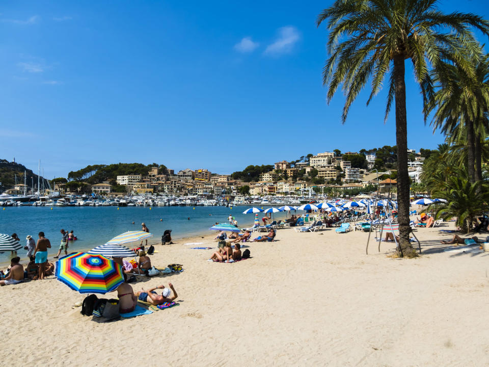 <em>Majorca – the couple were reportedly arrested after leaving their children with strangers while they went out to get drunk (Picture: Getty)</em>