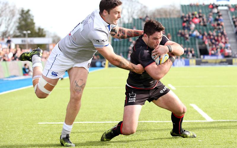 Brad Barritt - Credit: REX FEATURES