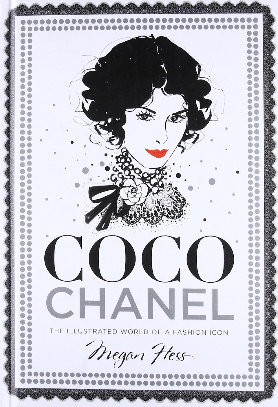 'Coco Chanel: The Illustrated World of a Fashion Icon' by Megan Hess