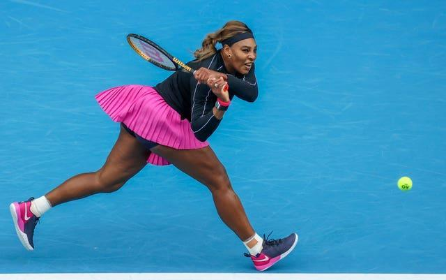 Serena Williams is still in pursuit of number 24
