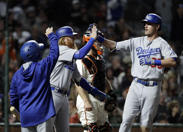 The Dodgers, wins and losses only really matter in October. The rest is just a warm-up. (AP)