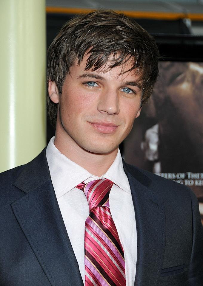 """<a href=""""http://movies.yahoo.com/movie/contributor/1809796465"""">Matt Lanter</a> at the Los Angeles premiere of <a href=""""http://movies.yahoo.com/movie/1810046336/info"""">Sorority Row</a> - 09/03/2009"""