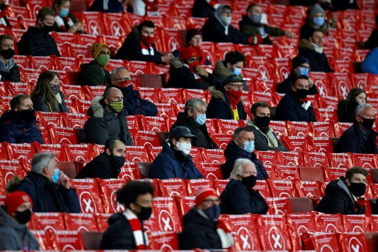 2,000 fans were back in a Premier League stadium for the first time since March for Arsenal's Europa League win over Rapid Vienna