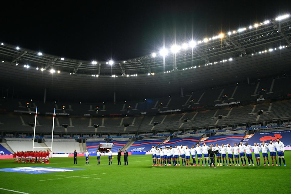France's final Six Nations match against Ireland will go ahead despite the national lockdown (AFP via Getty)