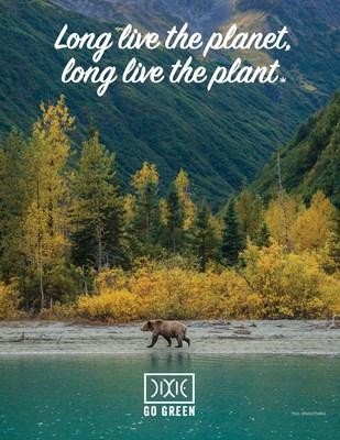 In celebration of 4/20, Dixie Brands is announcing a commitment to GO GREEN by transitioning its business towards a more sustainable and environmentally-friendly future. (CNW Group/Dixie Brands, Inc.)