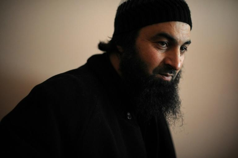 Bulgarian imam Ahmed Moussa Ahmed, pictured February 2013, was found guilty of preaching the ideas of IS and for helping would-be jihadists pass through Bulgaria on their way to fight in Syria