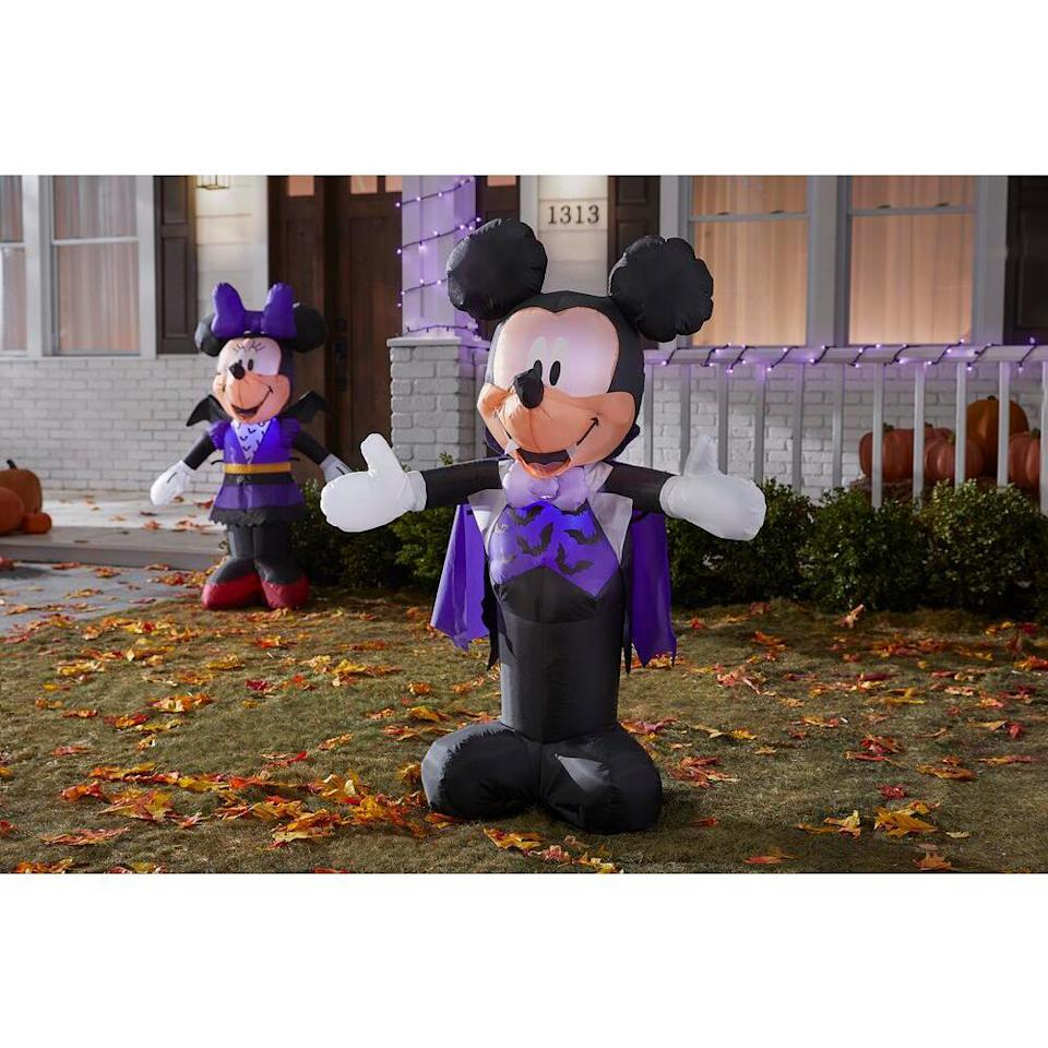 Mickey inflatable decoration, scary halloween decorations