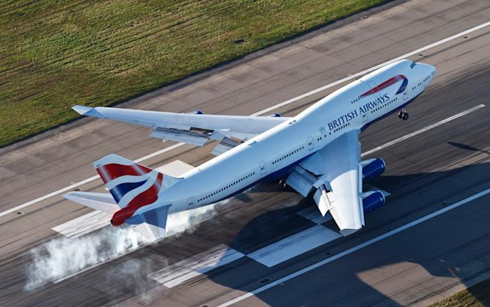 This British Airways Boeing 747 may have made its last voyage for the company - GETTY