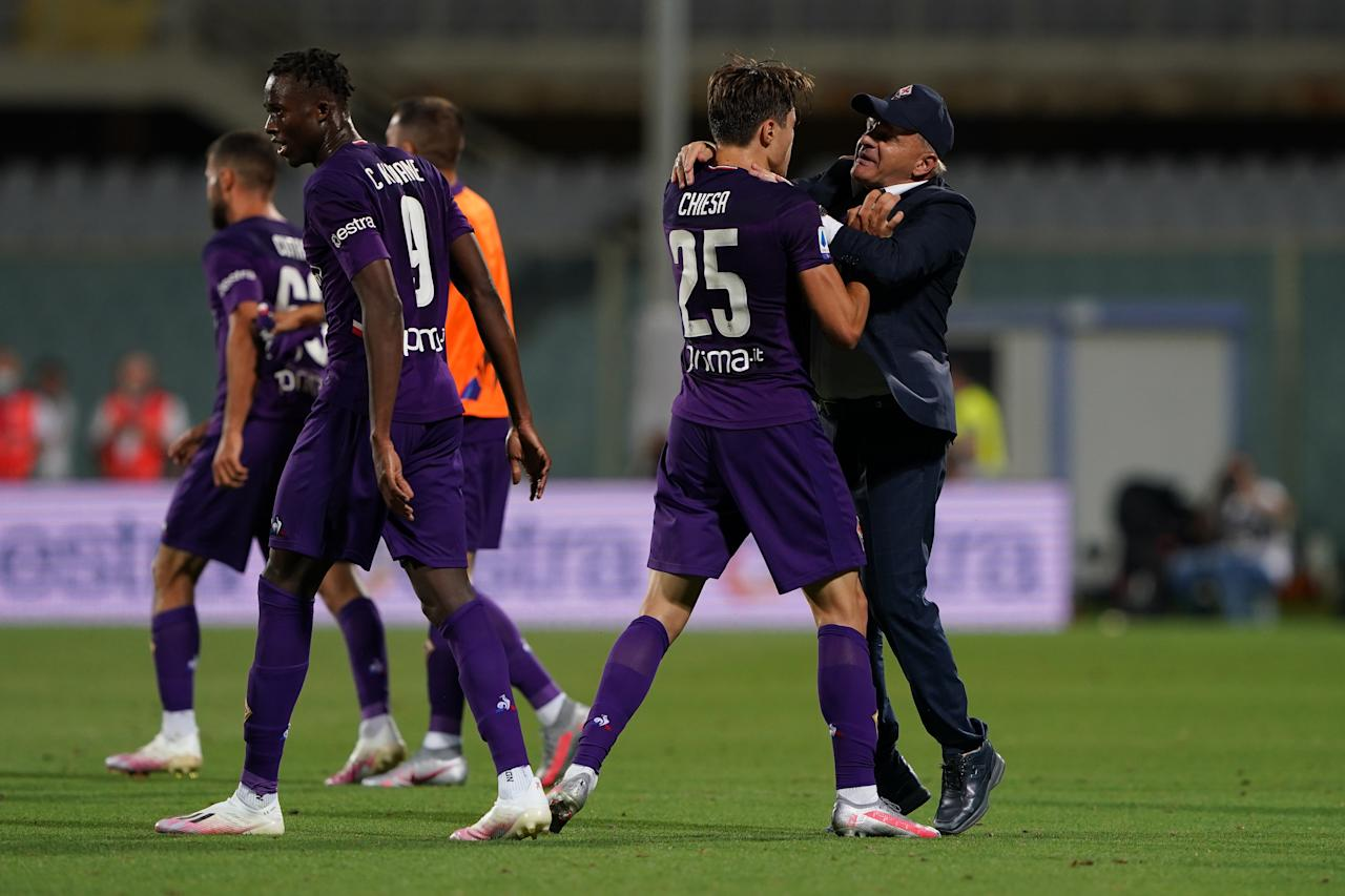 <strong>FIORENTINA</strong>, 3.5 milioni di followers totali. <strong>Incremento del +0.26%. </strong>(Photo by Danilo Di Giovanni/Getty Images)