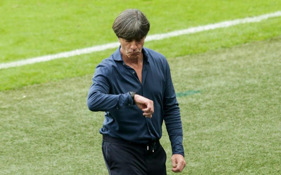 Joachim Löw's tenure as Germany coach ended on Tuesday night - GETTY IMAGES