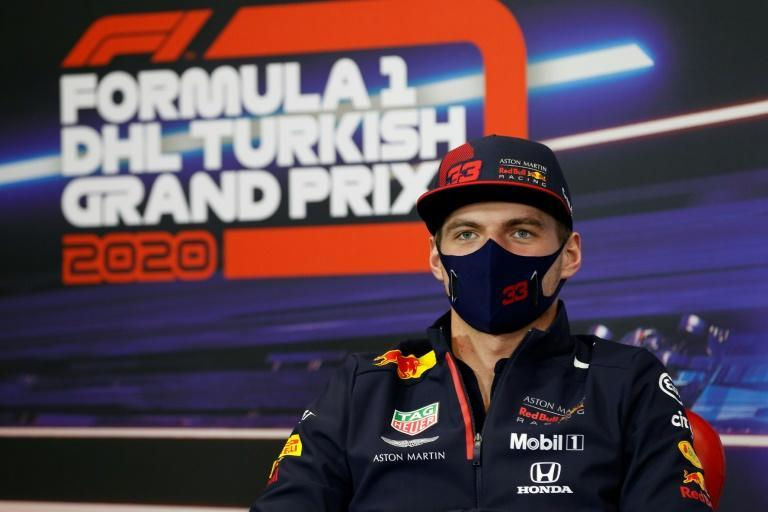 Max Verstappen is third in the F1 driver's championship